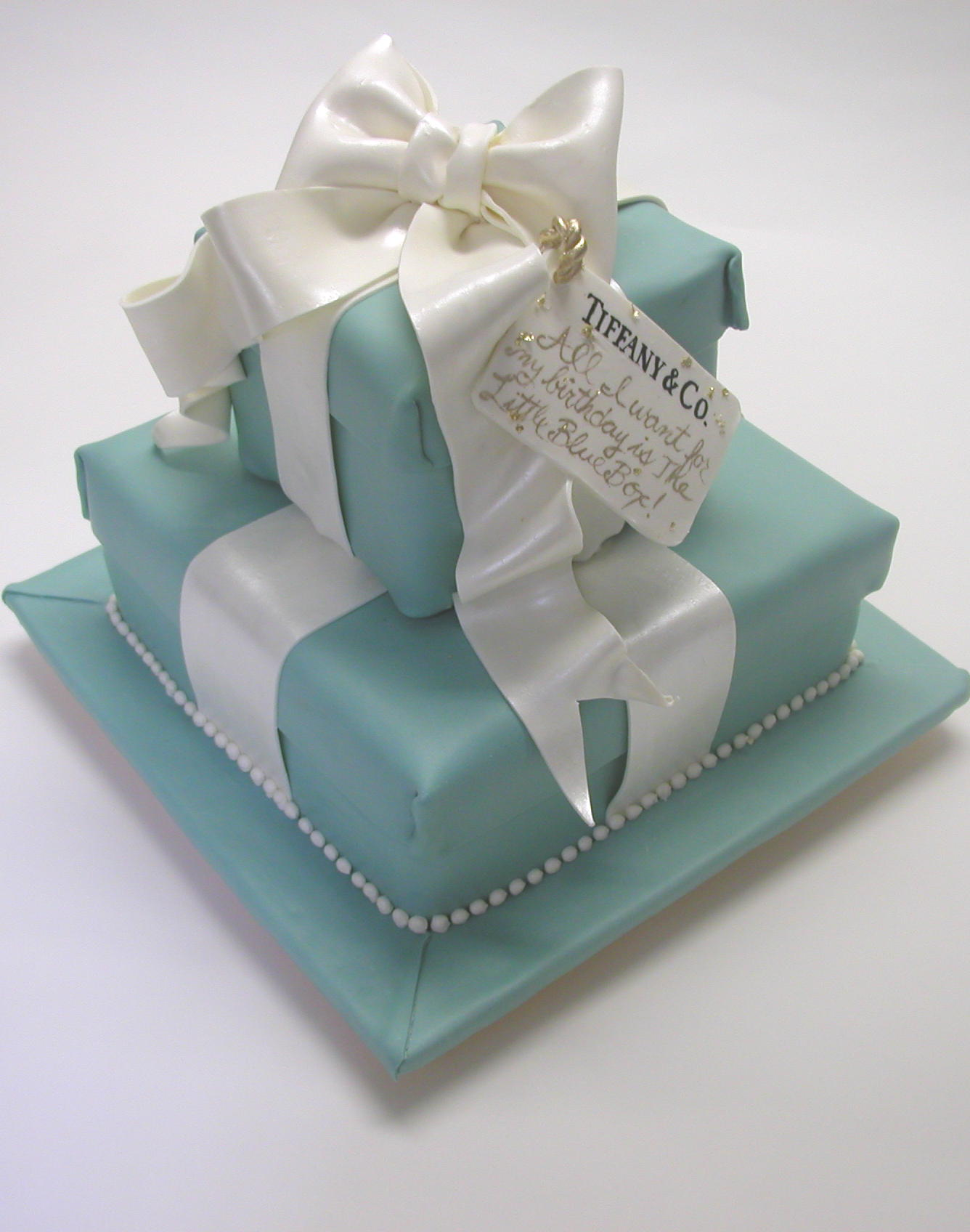 Astonishing Tiffany Birthday Elegant Cheese Cakes Funny Birthday Cards Online Fluifree Goldxyz